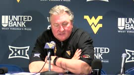 Bob Huggins postgame press conference (TCU)
