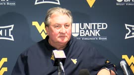 Bob Huggins postgame press conference (Texas)
