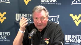 Bob Huggins postgame press conference (Baylor)