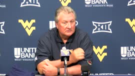 Bob Huggins press conference (July 10)