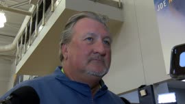 Bob Huggins on final practice before Spain trip