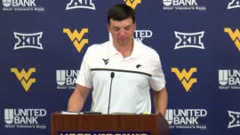Neal Brown pregame press conference (N.C. State)