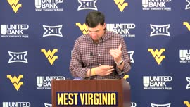 Neal Brown pre-Kansas press conference
