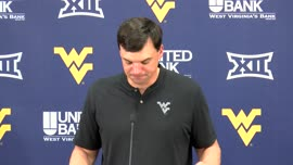 Neal Brown press conference (Oct. 22/Bye Week)