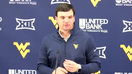 Neal Brown pregame press conference (Oklahoma St.)