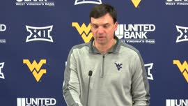 Neal Brown pregame press conference (TCU)