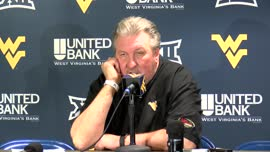 Bob Huggins postgame press conference (Rhode Island)