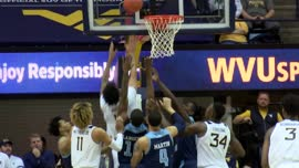 Highlights: West Virginia holds off Rhode Island 86-81, improves to 7-0: