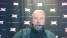 Bob Huggins pregame Zoom conference (TCU)