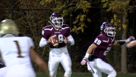 Wheeling Central's playoff hopes receive a major boost with 33-14 win over Williamstown